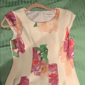 Floral Dress, Calvin Klein